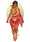 queen nephthisia - commission by samuraiblack