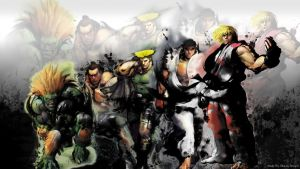 Streetfighter IV Wallpaper by Bluedef