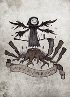 Land of Stumps and Dismay by atoms2ashes