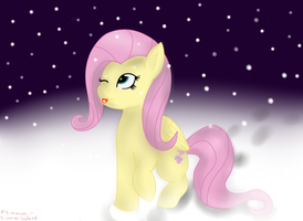 Winter Fluttershy by Lavalord50
