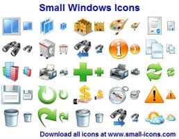Small Windows Icons by shockvideoee