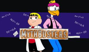 MYTHBUSTERS cover by joaobw