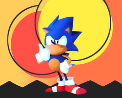 Sonic the Hedgehog by Greatmystic