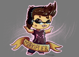 Markiplier - Fanart by Arisoune