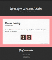Rosenfox Journal CSS by SimplySilent