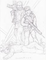 WiP: Battle Creek Zombie Hunters by Steel-Raven