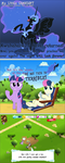 MLP Gameloft: The Difference between Day and Night by UltraTheHedgetoaster