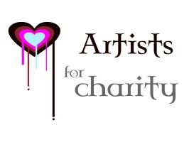 Artists for charity logo by Ryuichi1979
