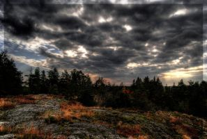 Mountaintop HDR by HeroinForMyHeroine