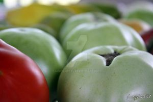 Tomatoe Close UP by LadyLuck89