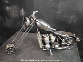 Mini Motorcycle by Kreatworks
