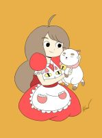 Bee and Puppycat by Hoho-art