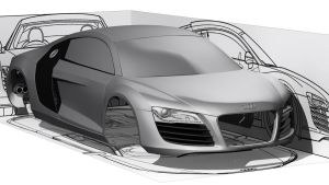 Audi R8 Whip 1 by yamell