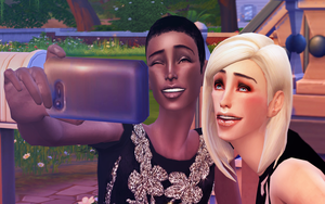 selfie by TheSims3Pets