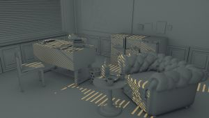 Detective Room Occlusion Render WIP by Ramdabam
