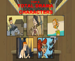 My Top 5 Total Drama Characters by TD23120