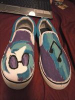 DJ-PON3 (Vinyl Scratch) Shoes by Zangekyo-Rebirth