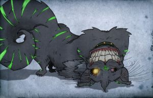 Glow in the Dark Cheshire by croonstreet
