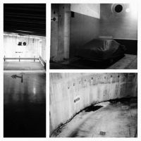 stories of daily loneliness #7: parkings by d-s-foto