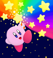 Star Rod Kirby by dreamingsandwich