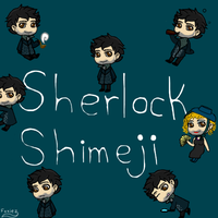 Movieverse Sherlock Shimeji by Foxiez