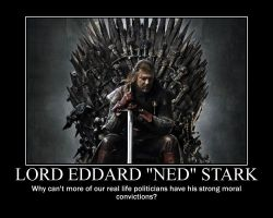 Lord Eddard 'Ned' Stark by fredrickburn
