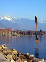 Leman Lake: Fork by inacom
