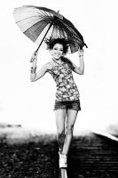umbrella bw by athrawn