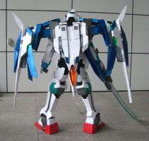 Gundam 00 Raiser - 2 of 10 by Clivelee