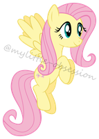 Flying Fluttershy by mylittle-obsession