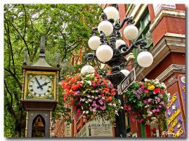 Gastown Steam clock by Ann75
