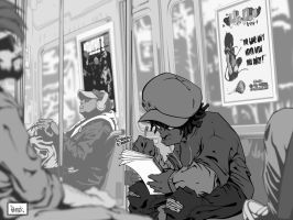 amir subway digi ink by pnutink
