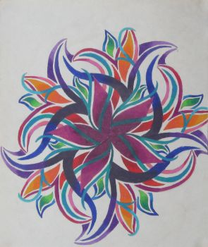 Prismacolor Flower No. 3 by Josephine9606