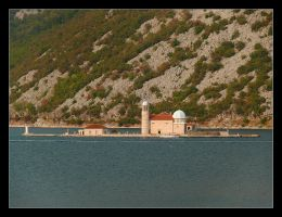 Gospa Od Skrpjela - Island Of Kotor Bay by skarzynscy