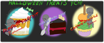 Halloween Treats YCH Auction CLOSED by CuteyCreations