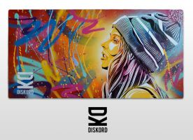 Beanie Girl - main by diskordclothing