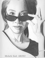 Michelle Yeoh by -Wedge- by Wedgewenis