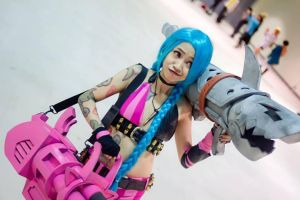 Jinx The Loose Cannon by kayoshi012