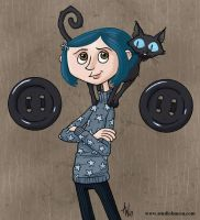 Coraline by StudioBueno