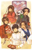Hetalia: Asian Food by finni