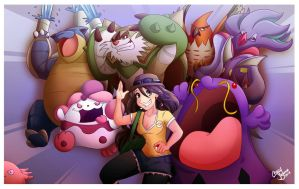 My Pokemon X Team by Chansey123