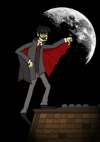 Murdoc Vampire by countevil