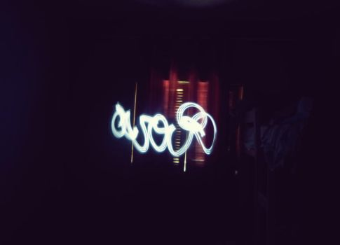 Simple Light Painting by everson4