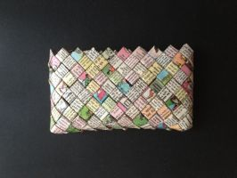 Purse, Wendy pen pal pages 15 by SecondChanceCrafts