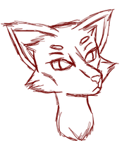 Sketchy Fox Thing by HopeForTheFuture13