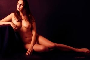 Veronika in the nude by lalitrastogi