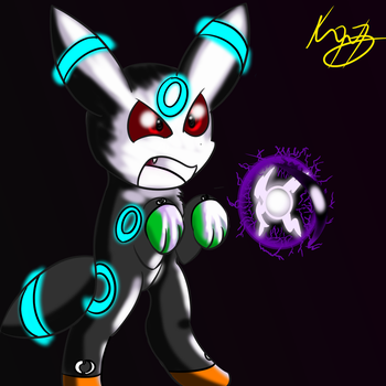 Kage (Used shadow ball!) by Axial97