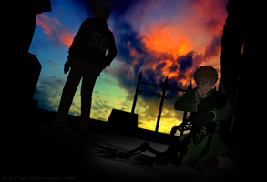 Hetalia MMD_Inspired by anti the holic by Noir74