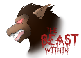 The Beast Within | DRAGONBALL SHIRTDESIGN by MitExcel