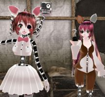 [MMD] FNaF Character Profiles: Foxy by MikuxLen4eves